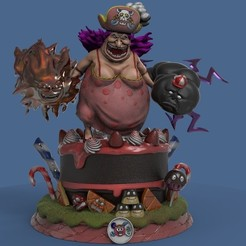 118884324_10223776375987318_8616706715249431504_n.jpg Download STL file ONEPIECE CHARLOTTE LINLIN BIG MOM  • Object to 3D print, DB3DCollectible