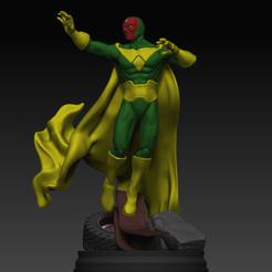 Télécharger objet 3D Marvel Comics Vision, MrDic