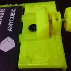 tevo tornado (9).jpeg Download free STL file Tevo Tornado Ultrabase Bed Adjuster • 3D printer model, LUXTRAZO