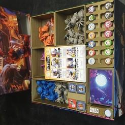 Descargar archivo 3D Organizador de cajas Ninja All Stars, ClusterCreations
