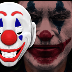Download 3D printer designs Joker Mask 2019, soulevansdxd