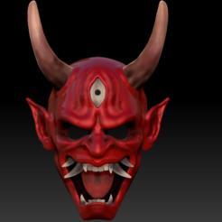 dsfsdf.png Télécharger fichier OBJ Masque oni Mort en plein jour • Objet à imprimer en 3D, soulevansdxd