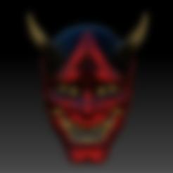 Download 3D-model Oni-masker Oni-masker, soulevansdxd