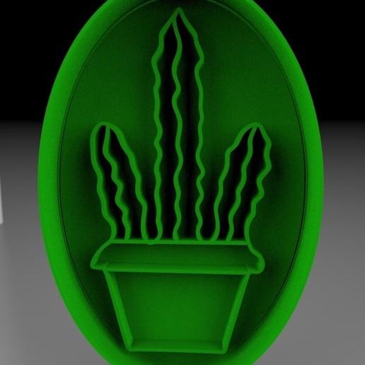3D-printersjablonen downloaden SHARP CACTUS, cristianova43