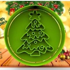 5-.jpg Download STL file CHRISTMAS 8CM • 3D printable object, cristianova43