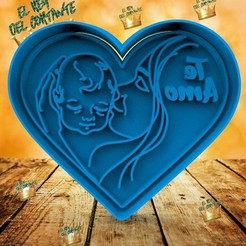 Download 3D printer templates MOTHER'S DAY CUTTERS, cristianova43