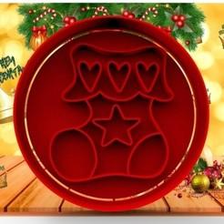 8-.jpg Download STL file CHRISTMAS 8CM • 3D printable object, cristianova43