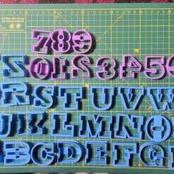 WhatsApp Image 2020-09-12 at 17.40.15.jpeg Download STL file 4CM LETTERS • 3D print object, cristianova43