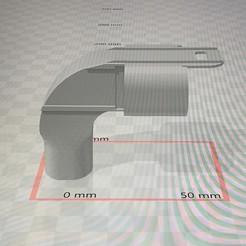 Impresiones 3D gratis adaptador para mascara de buceo, andres382005