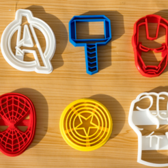 Download 3D printing templates COOKIE CUTTERS - COOKIE CUTTER, loszapanitos