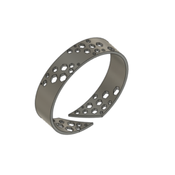 Download free 3D printer designs Hexagonal Ring, Golden_Wolf
