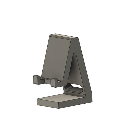 Descargar modelo 3D gratis soporte de teléfono, Golden_Wolf