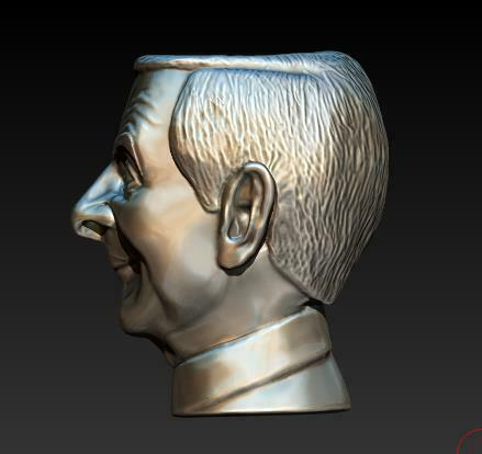 2020-12-28_00-30-45.jpg Download STL file mr. Bean (pots) • 3D printing model, Crazy_Craft_Sochi