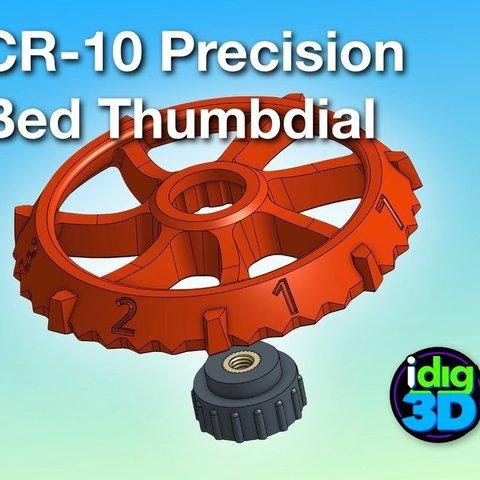 Archivos 3D gratis Reloj de precisión CR-10, idig3d