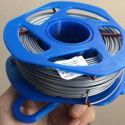 e440079623b375a8cd6ec5e560b757a3_display_large.jpg Download free STL file $5 filament spool and holder for Tiko 3D • 3D printer object, idig3d