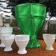 Fichier impression 3D gratuit Verre, Graal, Calice, Calice ou Vase orné, idig3d