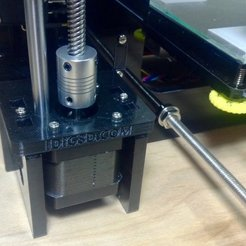 Download free 3D printer designs i3 z motor and y motor mount replaces acrylic, idig3d