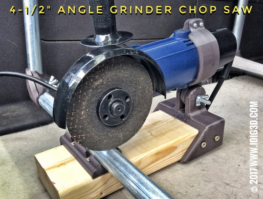 195bf86f47981d6502918a57e0c9b674_display_large.jpg Download free STL file Angle Grinder Chop Saw for EMT Conduit and 2020 Extrusion • 3D printer design, idig3d