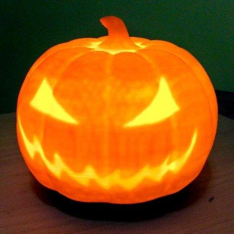 Free 3D printer designs Pumpkin base, idig3d