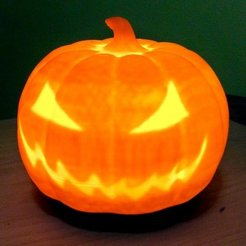 Free 3D printer designs Pumpkin base, idig3d