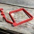 Free 3D printer files Gate Catch, idig3d