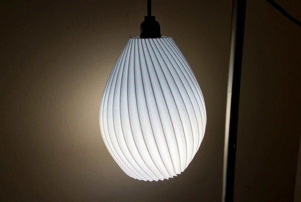 a505b5eab406fe7a7f044077d5b93fd4_display_large.jpg Download free STL file Hanging lamp shade • 3D printing design, idig3d
