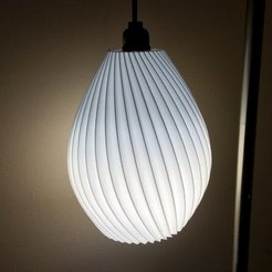 Free STL files Hanging lamp shade, idig3d