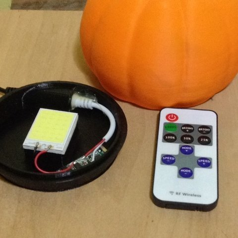 IMG_8092_display_large.JPG Download free STL file Pumpkin base • 3D printable model, idig3d