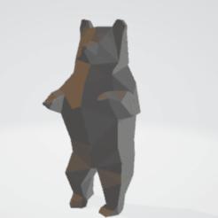 Capture d'écran (2).png Télécharger fichier 3MF OURS LOW POLY BEAR • Plan pour imprimante 3D, Mike01