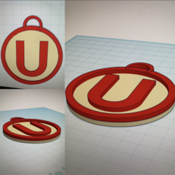 IMG_9730.PNG Download STL file University sports keychain (PERU) • 3D print template, Justin2008
