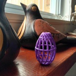 Download free STL file Egg cage • 3D printing design, cristcost