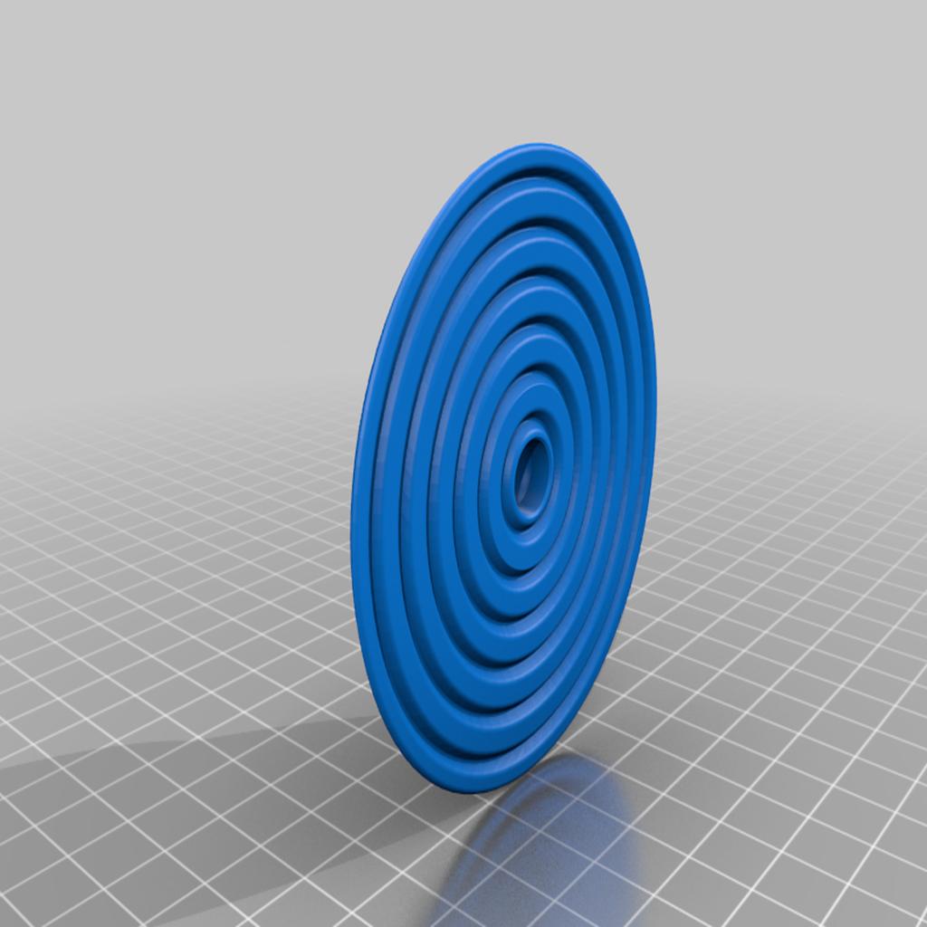 base_rotate_V2.png Télécharger fichier STL gratuit Exacto coupeur de grands cercles • Modèle pour impression 3D, cristcost