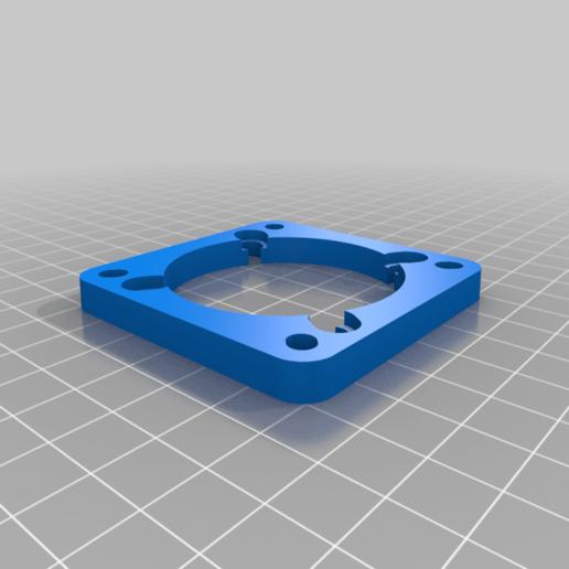 Télécharger fichier STL gratuit Ma plaque d'adaptation de ventilateur de PC personnalisée • Objet pour imprimante 3D, cristcost