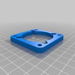Télécharger objet 3D gratuit Ma plaque d'adaptation de ventilateur de PC personnalisée, cristcost