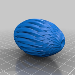 Download free STL file Hollow carved Egg • 3D printing object, cristcost