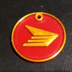 Télécharger fichier STL gratuit Médaille de Postes Canada • Modèle à imprimer en 3D, cristcost