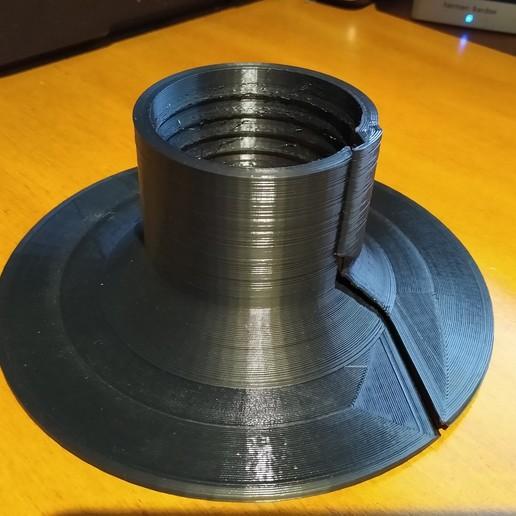 IMG_20191123_185017392.jpg Télécharger fichier STL gratuit Pompe de puisard à brides chevauchantes Radon • Design pour impression 3D, cristcost