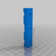 Download free STL files led strip angled for Kodama or panowin, cristcost