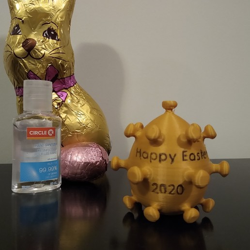 Download free 3D printing designs Easter Egg 2020, cristcost