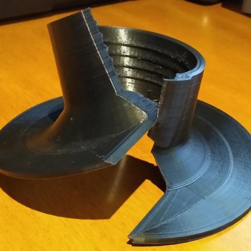 IMG_20191123_185203464.jpg Télécharger fichier STL gratuit Pompe de puisard à brides chevauchantes Radon • Design pour impression 3D, cristcost