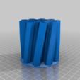 Download free 3D printer model Pen holder superlight, cristcost