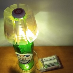 Download STL file Beer lamp DIY  • Template to 3D print, cristcost