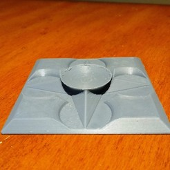 Download free 3D printer templates Top Spinner Pad, cristcost
