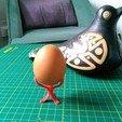 Télécharger STL gratuit Minimaliste Support d'œuf pour la peinture, cristcost
