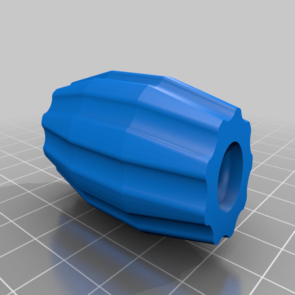 pivot_knob2.png Télécharger fichier STL gratuit Exacto coupeur de grands cercles • Modèle pour impression 3D, cristcost