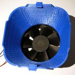 80mm_fan.jpg Télécharger fichier STL gratuit Adaptateur HEPA pour ventilateur • Modèle imprimable en 3D, cristcost