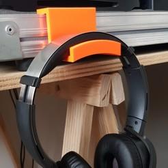 20200818_085016.jpg Download free STL file headphone support • Design to 3D print, loic33m3