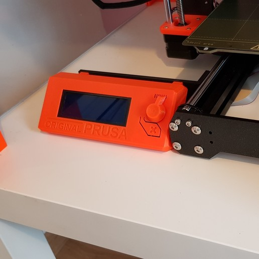 Download free 3D printer designs Screen offset for prusa i3 MK3S, loic33m3