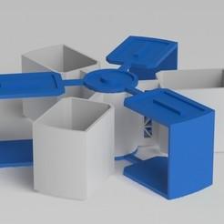 Download STL stackable spinning storage , johrek