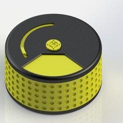 Impresiones 3D gratis Cilindro de almacenamiento múltiple, johrek